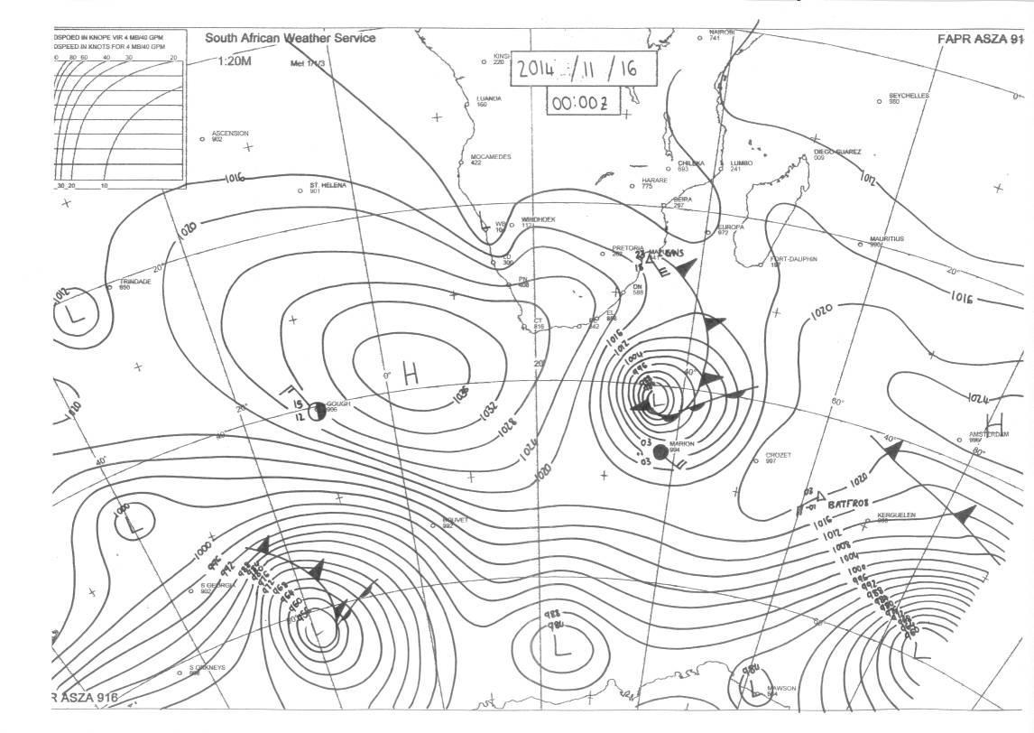 2-Wetterkarte