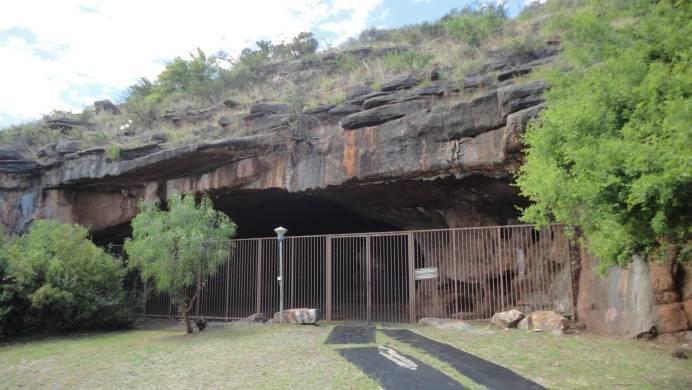 Eingang zur Wonderwerk Cave