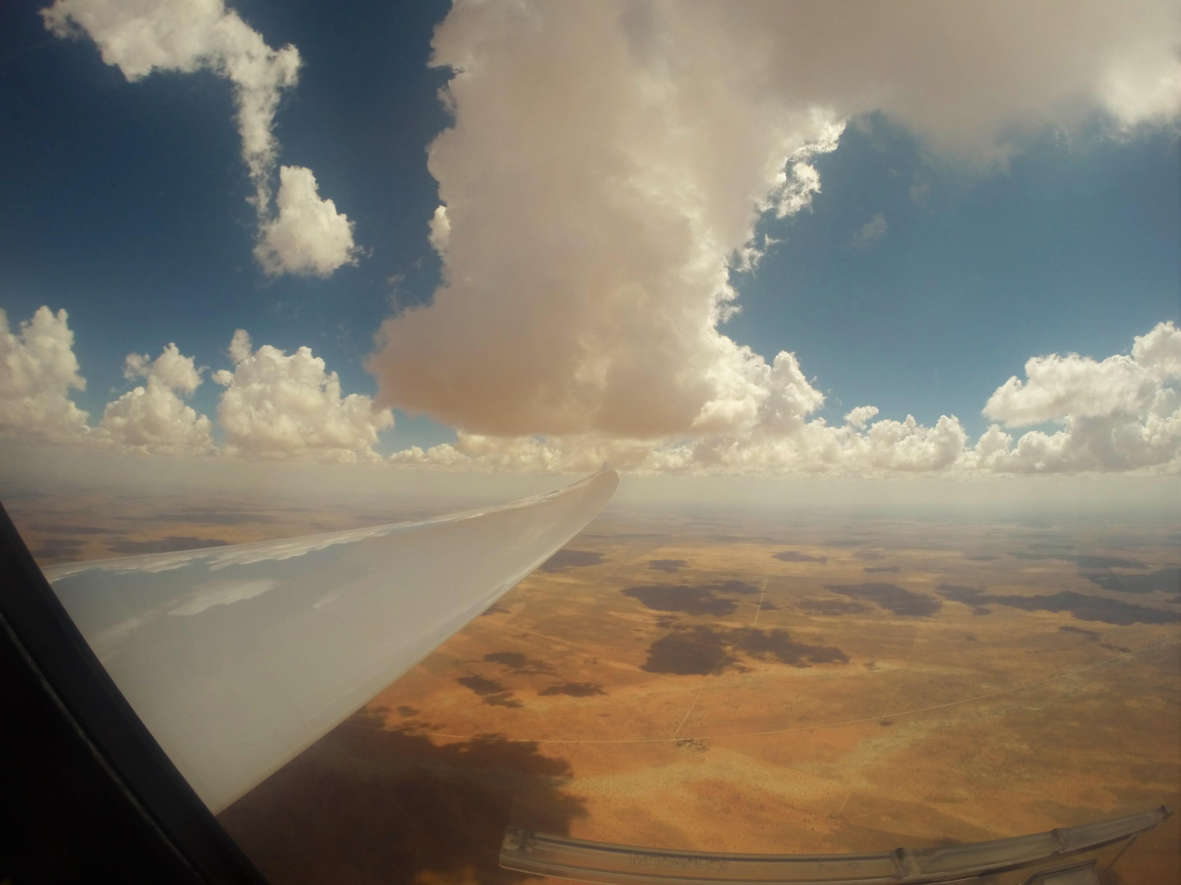 Kalaharisand Wolken